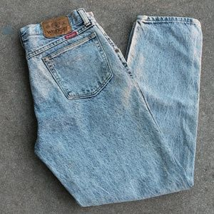 VINTAGE HIGH WAISTED WRANGLERS MADE IN USA